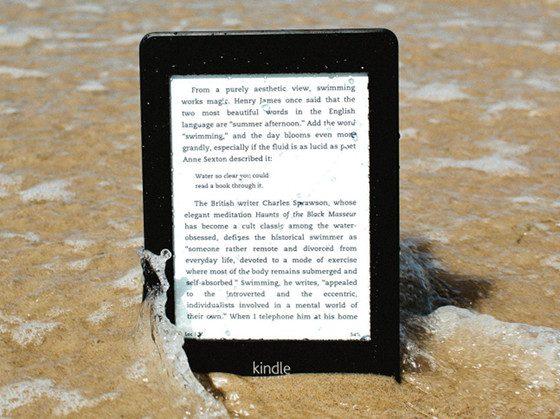Waterfi Waterproof Kindle