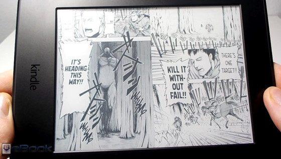 Kindle Manga Review