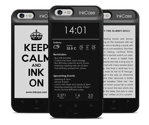 phone cases with e ink screens fail to impress