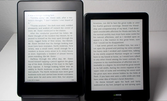 Kindle Paperwhite vs InkBook Prime