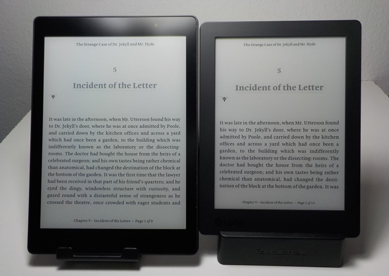 Kobo aura one vs kobo aura h2o edition 2 comparison review for Housse kobo aura h2o edition 2