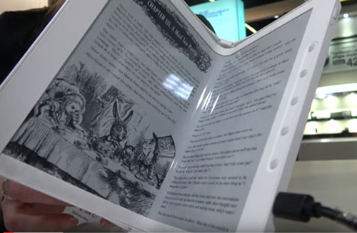 Foldable E Ink