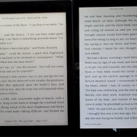 Kobo Aura One vs Fire HD 8