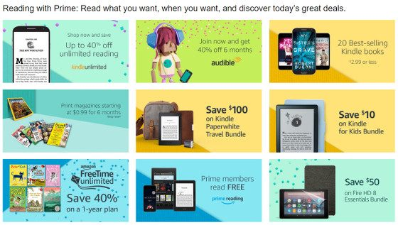 Prime Day Reading Deals