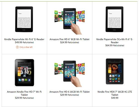 Woot Kindle Fire Deals