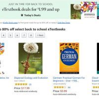 Kindle eTextbook Deals