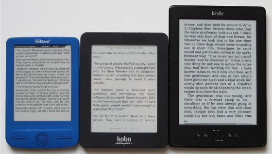 Kindle Vs Sony Reader: We Need More Options For Small Portable E Ink EReaders