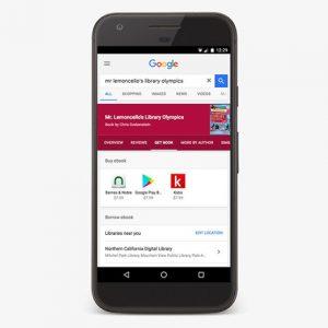 Google Search Library eBooks