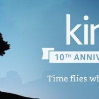 Kindle 10th Anniversay Deals