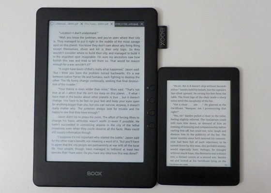 Kindle vs Onyx Boox N96