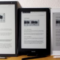 Large eReader Comparison