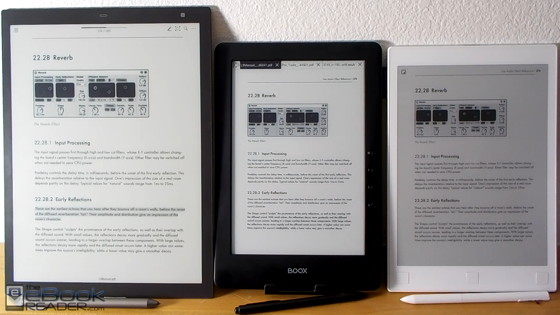 Kindle Vs Sony Reader: Onyx Boox N96 Vs Sony DPT-RP1 Vs Remarkable Comparison