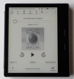 Kindle Oasis 2 Audiobooks