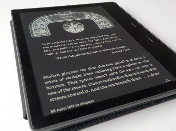 Kindle Oasis 2 Inverted Color