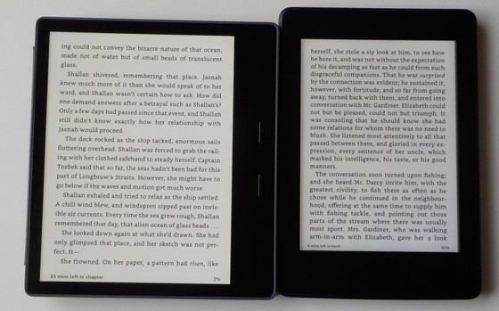 Is the Screen Large Enough on the Kindle Oasis 2? | The