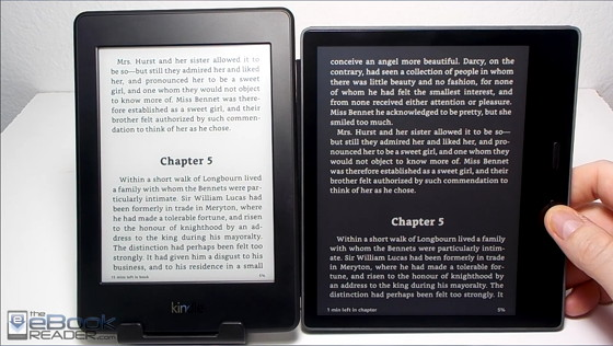 Kindle Oasis 2 vs Kindle Paperwhite 3 Comparison Review