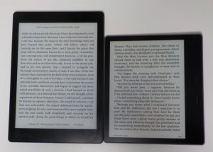 Kindle Oasis vs Kobo Aura One