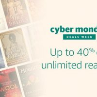 Kindle Unlimited Cyber Monday Sale