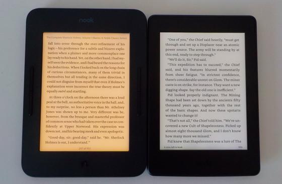 Kindle Vs Sony Reader: Nook Glowlight 3 Vs Kindle Paperwhite 3 Comparison (Video