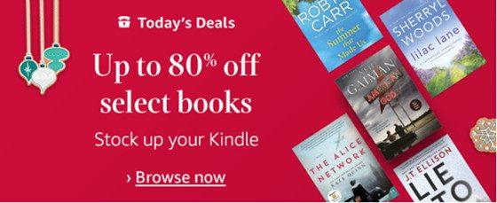 Kindle Christmas Sale