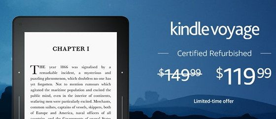 Kindle Voyage Sale