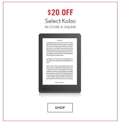 Kobo ereader coupons canada