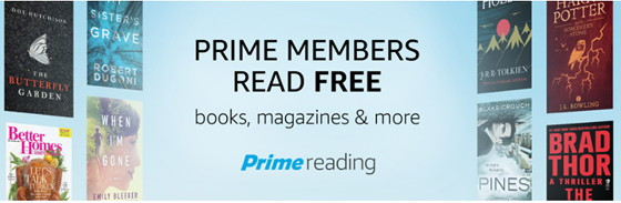 Prime members dont forget your free ebooks with prime reading the prime reading is one of the many perks available for amazon prime members it provides unlimited access to a small library of kindle ebooks along with some fandeluxe Images
