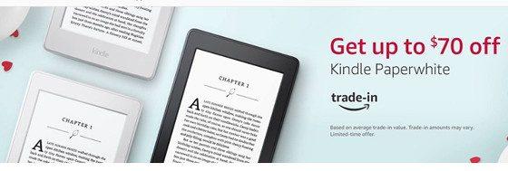 Kindle Paperwhite Trade