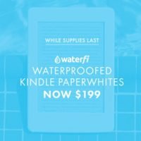 Waterproof Kindle Paperwhite Waterfi