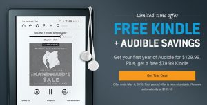 Audible Free Kindle Deal