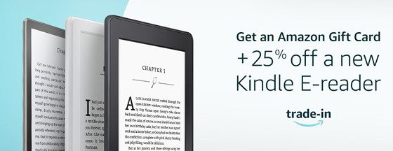 Kindle Trade Discount