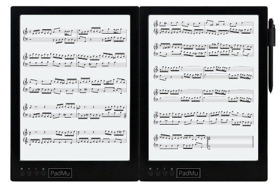 PadMu Dual Screen Music Reader