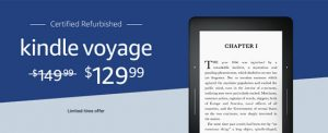 Kindle Voyage Refurbs