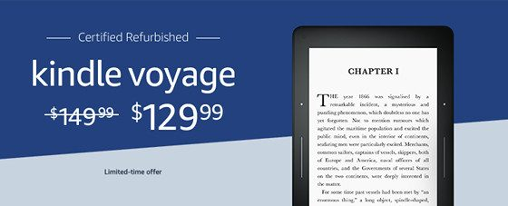 Kindle Voyage Refurbs