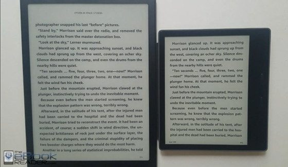 Kindle vs Onyx Boox Note