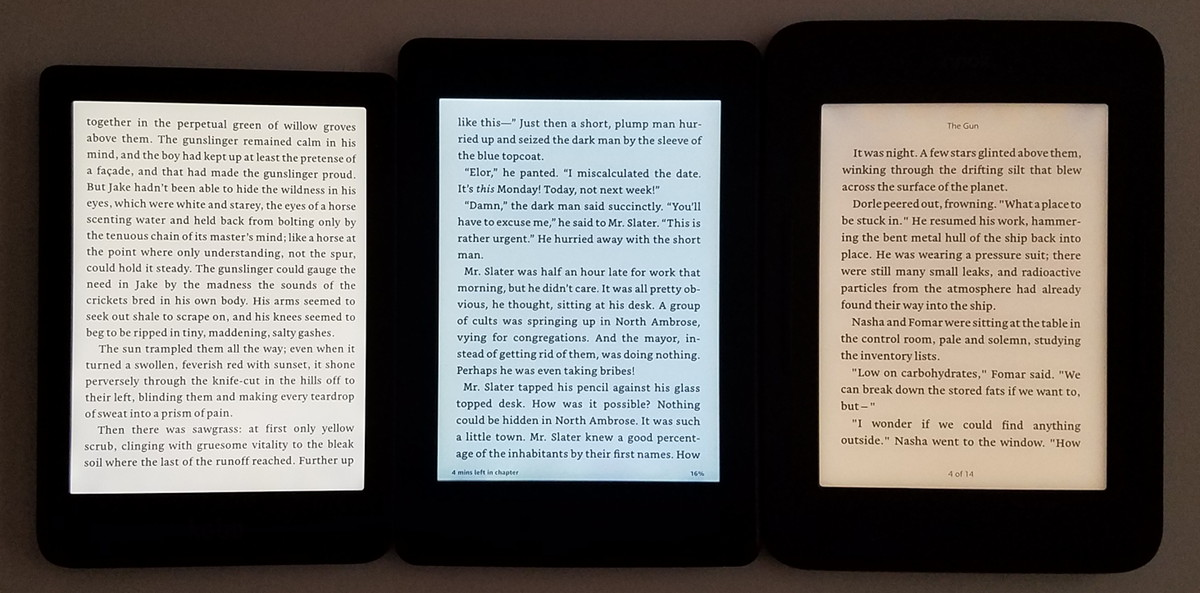Kobo Clara HD Light Bleed Issue – Comparison Photos | The eBook