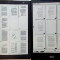 Onyx Boox Note vs Sony CP1