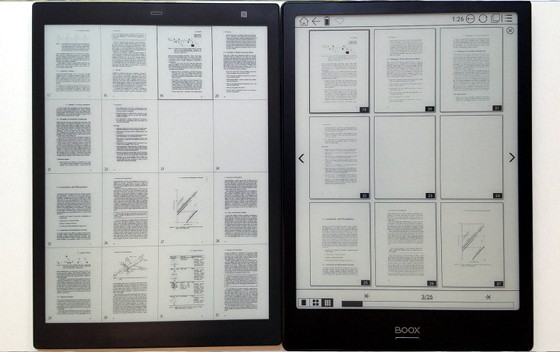 Kindle Vs Sony Reader: Onyx Boox Note Vs Sony DPT-CP1 Comparison Review (Video