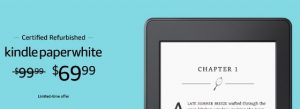 Kindle Paperwhite Refurbished