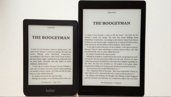 Kobo Aura One vs Kobo Clara HD Comparison Review (Video