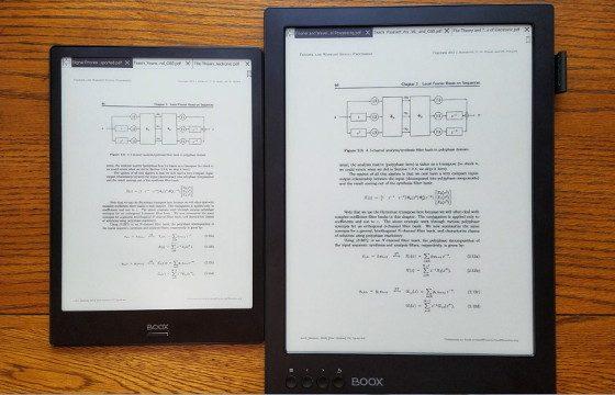 Onyx Boox Max2 vs Boox Note