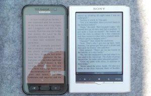 Phone vs eReader