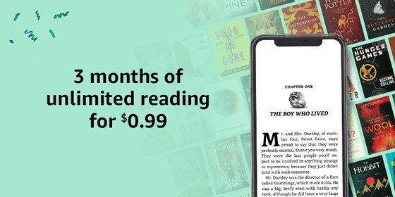 Prime Kindle Unlimited Deal
