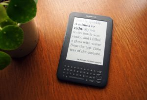 Kindle Clock