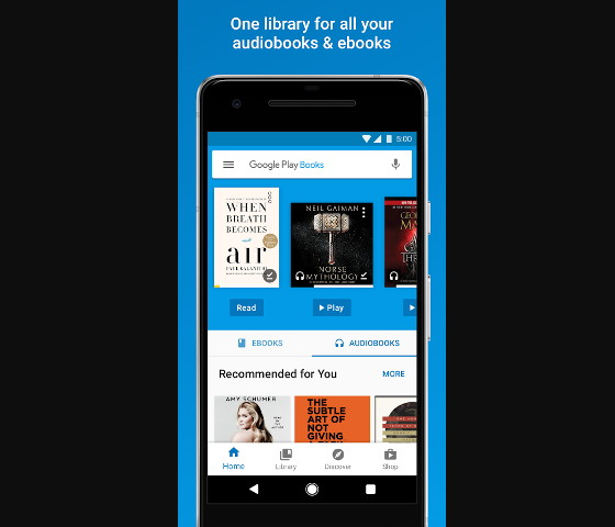 Share eBooks Using Google Play Family Library | The eBook Reader Blog