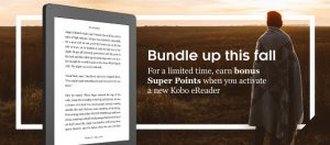 Kobo eReaders Super Points Deal