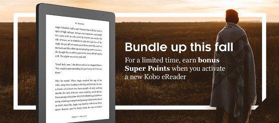 Kobo eReaders Super Points Deal