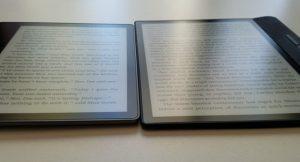 Kindle Oasis vs Kobo Forma