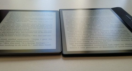 Kindle Oasis vs Kobo Forma