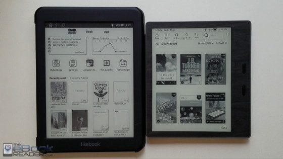 Kindle Oasis vs Likebook Mars Comparison Review